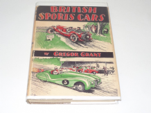BRITISH SPORTS CARS. (Gregor Grant 1947 1st ed)